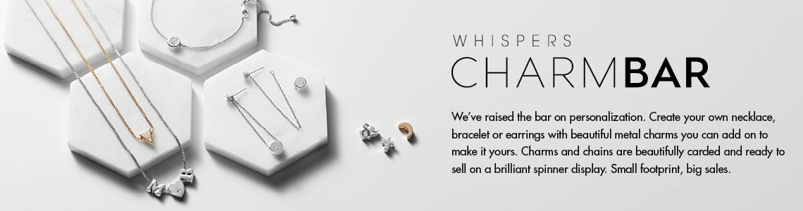 Whispers Charm Bar Jewelry Collection