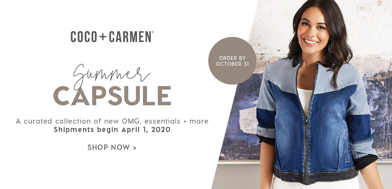 Coco + Carmen Summer Capsule Collection