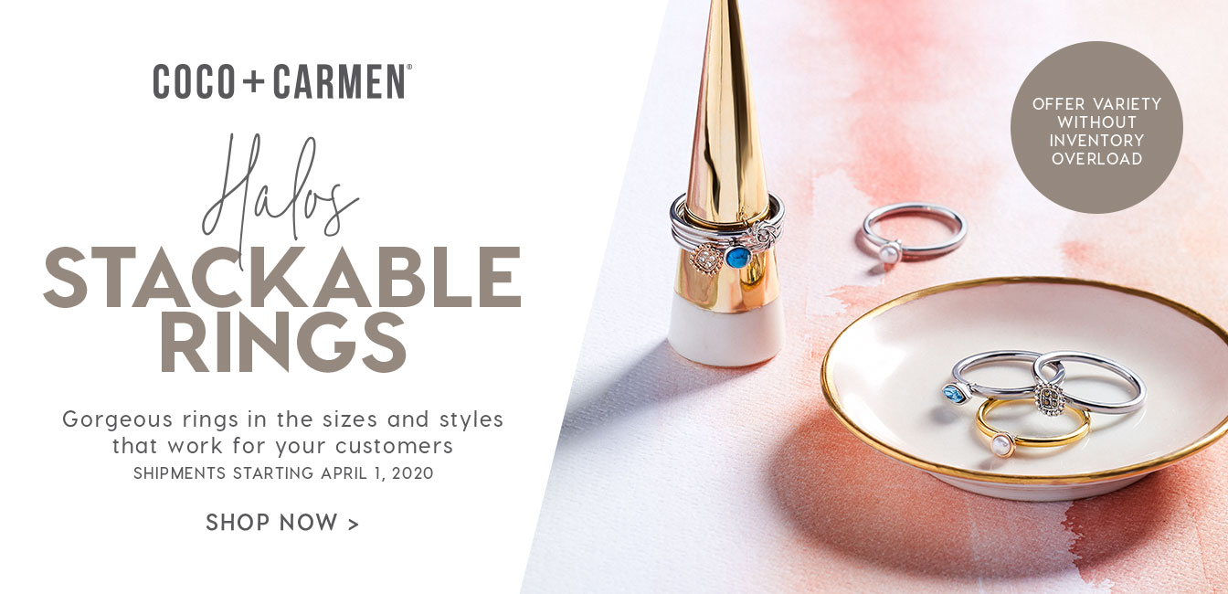 Coco + Carmen Halos Interchangeable Ring