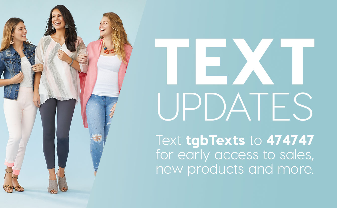 Sign Up for Text Messages